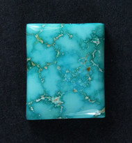 Gorgeous Lone Mtn Spiderweb Turquoise Cabochon  #19145
