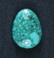 Gorgeous Morenci Turquoise Cabochon  #19151