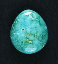 Gorgeous Lone Mtn Spiderweb Turquoise Cabochon  #19169