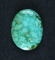 Gorgeous Lone Mtn Spiderweb Turquoise Cabochon  #19170