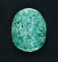 Gorgeous Lone Mtn Spiderweb Turquoise Cabochon  #19172