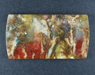 Top Shelf Graveyard Point Plume Agate Designer Cabochon  #19228