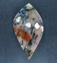 Exceptional Snake River Dendritic Agate Cabochon  #19237