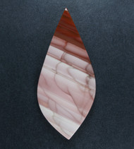 Dramatic Pink and Red Imperial Jasper Cabochon #19302