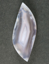 Gorgeous Indonesian Purple Banded Agate Cabochon 10811