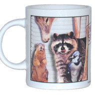 Usual Suspects Mug | Funny Squirrel Mug
