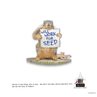 Will Work for Seed Poster