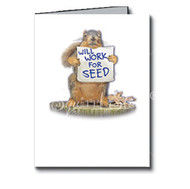 Will Work for Seed Cards Boxed Set of 8