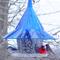 Sapphire Blue SkyCafe Bird Feeder