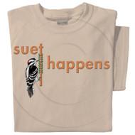 Suet Happens T-shirt | Funny Bird