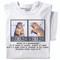 Mugshot T-shirt | white tee | Funny Squirrel Tee