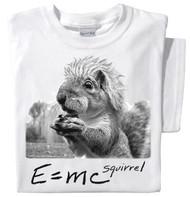 E=mcSquirrel T-shirt | Funny Einstein Squirrel