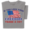 If you love your freedom t-shirt