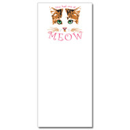 You had me at Meow Notepad
