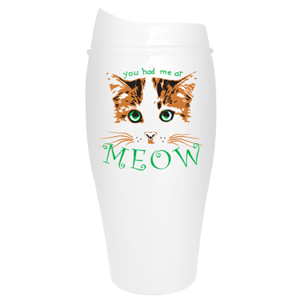 You have me at Meow Tumbler | Cat Travel Mug