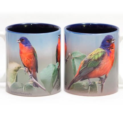 Painted Buntings Mug | Jim Rathert Photography | Bird Mug