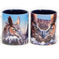Great Horned Owl Mug   Jim Rathert Photography   Bird Mug
