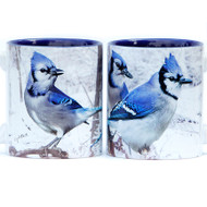 Winter Blue Jays Mug | Jim Rathert Photography | Bird Mug