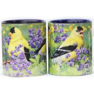 Summer Goldfinch Mug   Jim Rathert Photography   Bird Mug