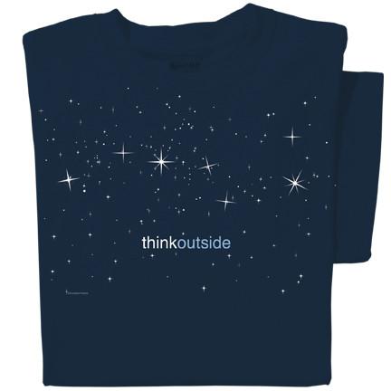 Pure Cotton Stars T-shirt | ThinkOutside