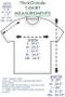 Pure Cotton | ThinkOutside Unisex T-shirt Size Chart