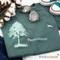 Pure Cotton Think Outside Tree T-shirt | ThinkOutside