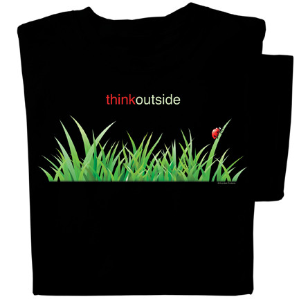Organic Cotton Ladybug in the Grass T-shirt | ThinkOutside