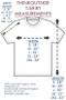 ThinkOutside Unisex T-shirt Size Chart