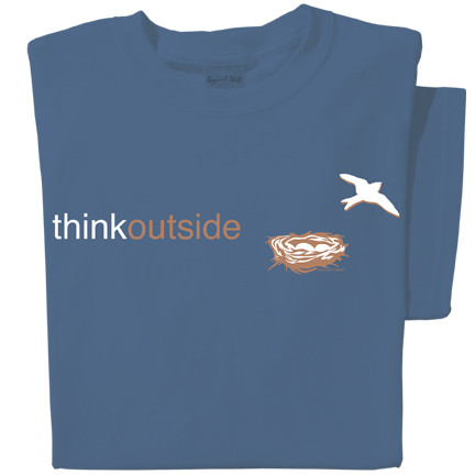 Organic Cotton Bird Nest T-shirt | ThinkOutside
