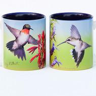 Hummingbird Pair Mug | Jim Rathert Photography | Bird Mug