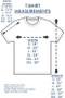 Ladies Cut T-shirt Size Chart