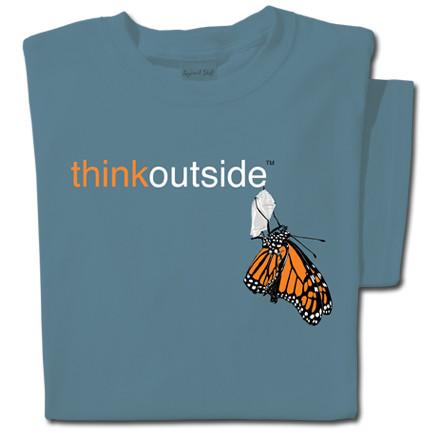 Pure Cotton Monarch T-shirt | ThinkOutside