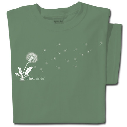 Pure Cotton Dandelion T-shirt | ThinkOutside