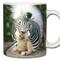Zebra Squirrel *Equusciurus zebrinus Mug | Funny Squirrel