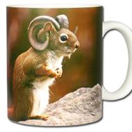 Ram Squirrel *Arietisciurus cornutus Mug | Funny Squirrel