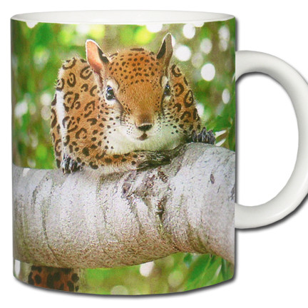 Jaguar Squirrel *Jagarisciurus pacificus Mug | Funny Squirrel