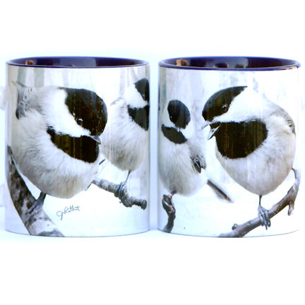 Winter Chickadee Mug | Jim Rathert Photography | Bird Mug