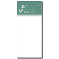 ThinkOutside Dandelion Notepad | Magnetic Shopping List