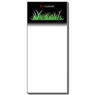 ThinkOutside Ladybug in Grass Notepad | Magnetic Shopping List