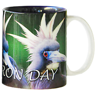 Bad Heron Day Mug | Jim Rathert Photography | Bird Mug
