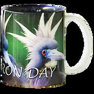 Bad Heron Day Mug | Jim Rathert Photography | Bird Mug
