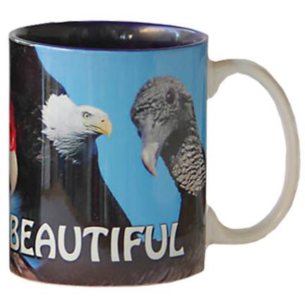 Bald is Beautiful Eagle Mug   Jim Rathert Photography   Bird Mug