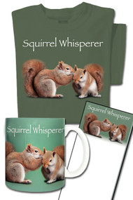 Squirrel Whisperer Gift Set | Funny Squirrel