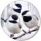 Winter Chickadee Sandstone Ceramic Coaster   Front