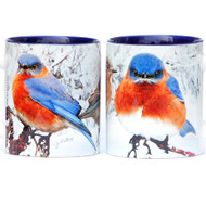 Winter Bluebird Mug | Jim Rathert Photography | Bird Mug