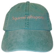 Squirrel Whisperer Embroidered Cotton Cap