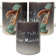 I've made a Huge Mistake Mug | Funny Squirrel Mug