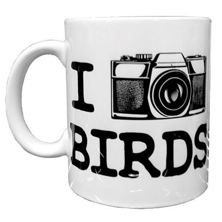 I Photograph Birds Mug | Funny Birder Mug