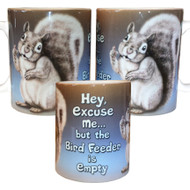 Excuse me squirrel mugs; all views