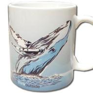 Think Outside Humpback Whale Mug